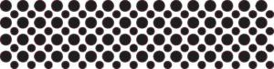 128x Black Camera Dots Webcam Cover
